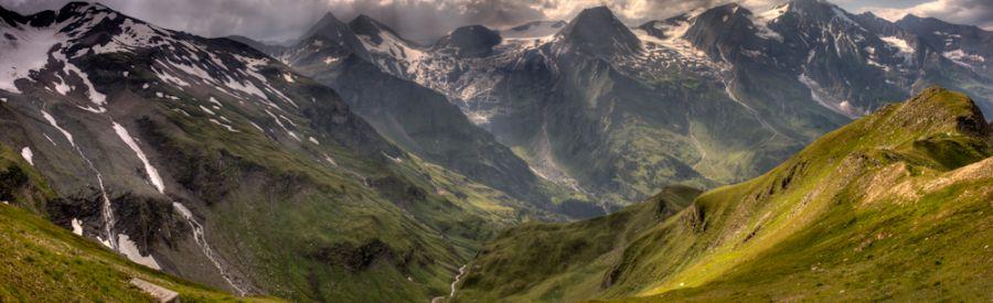 Alpenpanorama am Großglockner