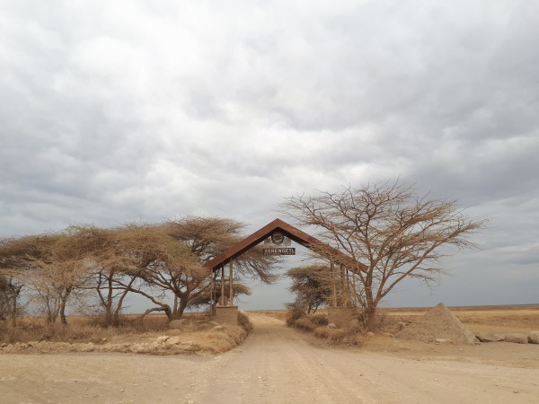 Serengeti Nationalpark Gate